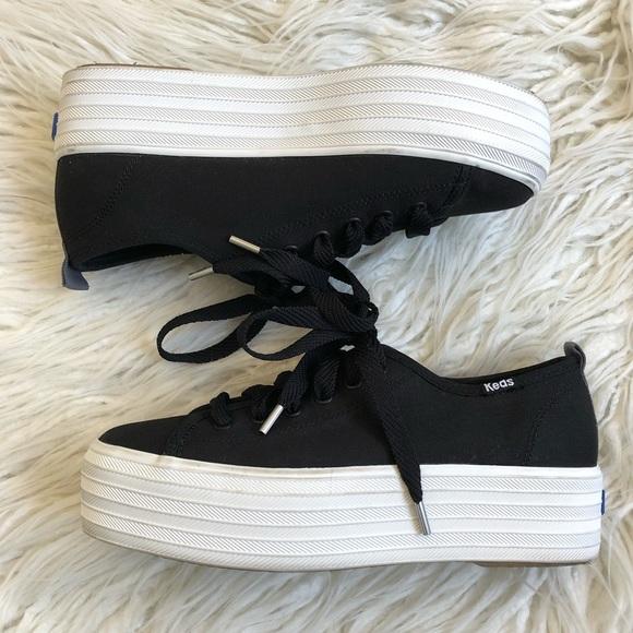 Keds Triple Up Canvas Flatform Sneaker